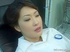 Cosplay Porn: Asians Nurses Cosplay Japanese MILF Nurse Fucked Doctors Office part 1