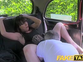FakeTaxi: Married woman takes a worthwhile hard fucking