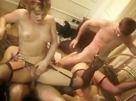 British harlots Starr and Isabel Ice in a foursome