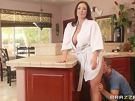 Mommy Got Boobs: Sneaky Mom. Kendra Lust, Brick Danger