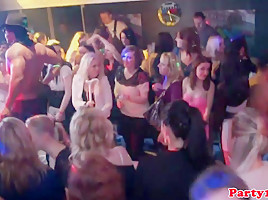 Amateur nightclub teens fucked by strippers