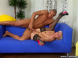 Powerful anal fucking