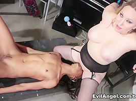 Nikki Darling & Aiden Starr in Pussy Whipped #03 Movie-