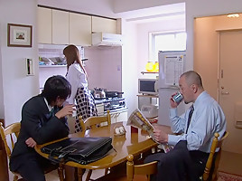 Akiho Yoshizawa in Bride Fucked by her Father in Law part 2.1