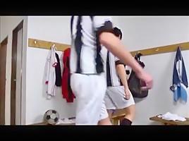 In the locker room 1