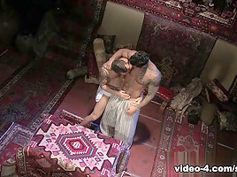 Andre Barclay & Alexsander Freitas in Tales Of The Arabian Nights, Part 1, Scene #01