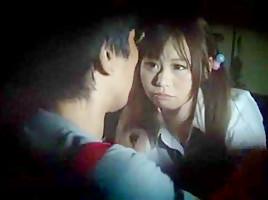 Horny Asian scene with JAV Censored,College scenes