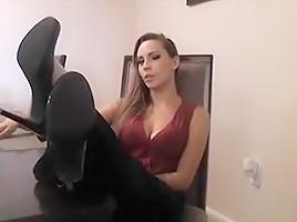 Sasha Foxx - Smelly Foot Fetish Instructions 2 - JOI