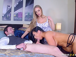 Audrey Bitoni & Nicole Aniston & Charles Dera in Oh No You Dont - Brazzers