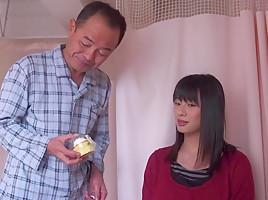 Hana Haruna in Hana Gets Ravaged By Her father-In-Law - EritoAvStars