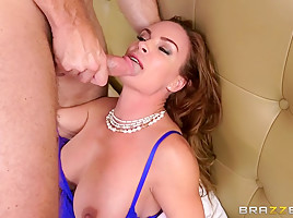 Diamond Foxxx & Levi Cash in Stepmom Likes It Rough - Brazzers