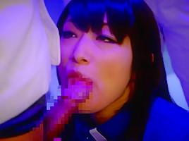 Miku Abeno,Nanase Otoha,Reiko Sawamura, in Bukkake IN SPACE - CosplayInJapan