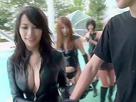 Kyoko Maki in The Squirting Olympics - CosplayInJapan