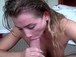 A heated couple in bedroom 1