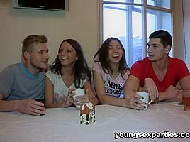 Edward & Foxy Di & Ananta Shakti & Ricky in Girls Share Boyfriends& Dicks - YoungSexParties
