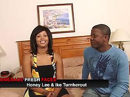 Amazing pornstar Honey Lee in fabulous cunnilingus, tattoos sex movie