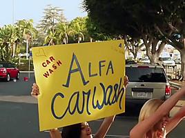 Hottest pornstars Tia Cyrus, Marie McCray and Cassandra Nix in incredible cumshots, threesomes xxx video