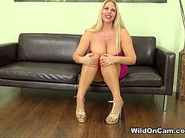 Karen Fisher in Karen Fisher Live - WildOnCam