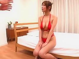 Crazy Japanese whore Suzu Tsubaki in Hottest Big Tits, Cunnilingus JAV scene