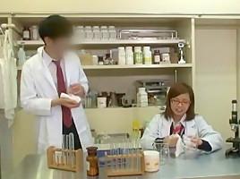 Incredible Japanese chick Miyabi Tsukioka, Ren Azumi in Hottest Doggy Style, Small Tits JAV video