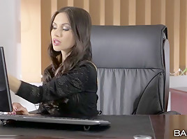 Sasha Rose in Quite The Package - OfficeObsession