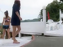 Incredible Japanese girl Yumemi Nakagawa, Ren Azumi in Best Massage, Doggy Style JAV movie