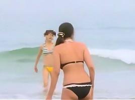 Fabulous Japanese chick Yumemi Nakagawa, Ren Azumi in Crazy Massage JAV scene