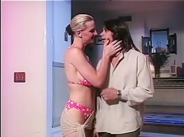 Fabulous pornstars Laura Palmer and Asia Carrera in amazing big tits, threesomes adult clip