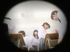 Horny Japanese chick Nozomi Aiuchi, Satomi Kirihara, Arisa Nakano in Best Small Tits, College JAV movie