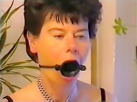 Amazing amateur BDSM, Kitchen sex video