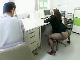 Secret Cam Office Suck Boss