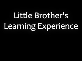 Aaliyah hadid - little brothers learning experience