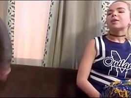 Petite cheerleader alina ruined