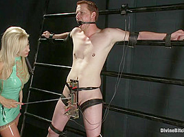 Ashley Fires & Zak Tyler in Evil Ruined Orgasm: Episode 3 - DivineBitches