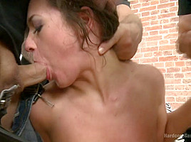 Gorgeous Natural Beauty Gets The Gangbang Of Her Dreams - HardcoreGangbang