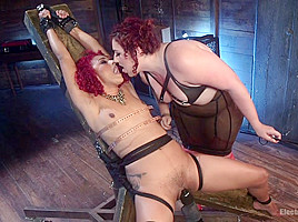 Mimosa & Daisy Ducati in The Ultimate Electroslut: Daisy Ducati Shocked & Anally Electrosexed - Electrosluts