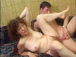 Very hairy pussy seduces a guy