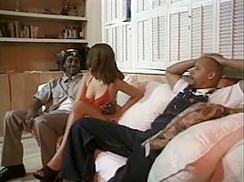 Horny pornstars Devlin Weed and Meka Johnson in hottest anal, cumshots porn video