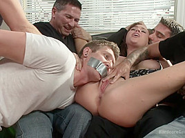 A Woman Scorned- Krissys Fantasy Gang Bang Revenge - HardcoreGangbang