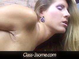 Hot threesome inside the prison