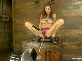 The Girl Next Door Squirts Power Babe Gia DiMarco is back w Machines