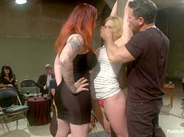 Darling Gets Fucked on Camera For the First Time at Kink