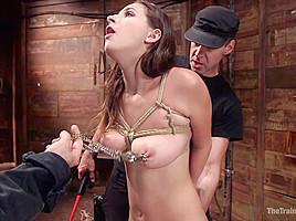 Ashley Adams' Slave Desires: Training Ashley Day One - TheTrainingofO