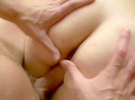 Faye Takes Anal Creampie And Cleans Dirty Dick With Her Mouth