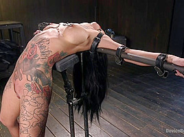 Lily Lane & The Pope in Tattooed Pain Slut Begs To Suffer In Diabolical Devices - DeviceBondage