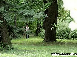 Renata Fox & Charlie Deen in Deep In The Woods - 21Naturals