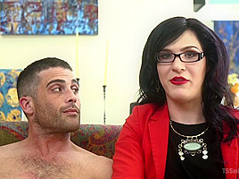 Lance Hart & Stefani Special in Repo My Asshole: Repo Goddess Blackmails Slutty Homeowner - TSSeduction