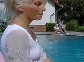 Amazing pornstar Sammy Jane in fabulous outdoor, blonde adult video