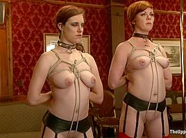 Iona Grace & Lilla Katt & Skin Diamond in Service Session - TheUpperFloor