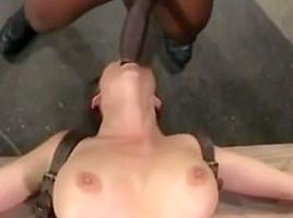 Wife anal hard fucking pain of big black cock crying-